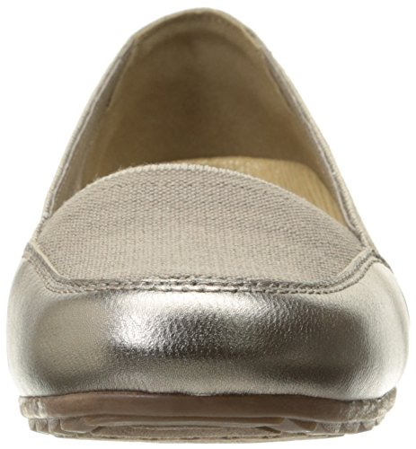 Skechers Women's Rome Flat, Black, 10 M US Taupe Canvas