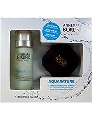 Annemarie Börlind Aquanature Set (Hyaluron Cream Sorbet, 50 ml Plus Taschenspiegel), 1er Pack (1 x 2 Stück)