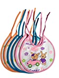#5: Baby Premium Quality Feeding Bibs / Cotton Bibs - Under 1 Year (Set of 6 Colors)