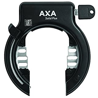 Axa Solid Black Bike Frame Lock - Black, N/A