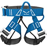 Salewa Via Ferrata Evo Rookie Harness - Perneras flexibles, color azul, talla XXS / S