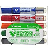 Pilot V Board Master - Set de 5 Marcadores Multicolor para Pizarra
