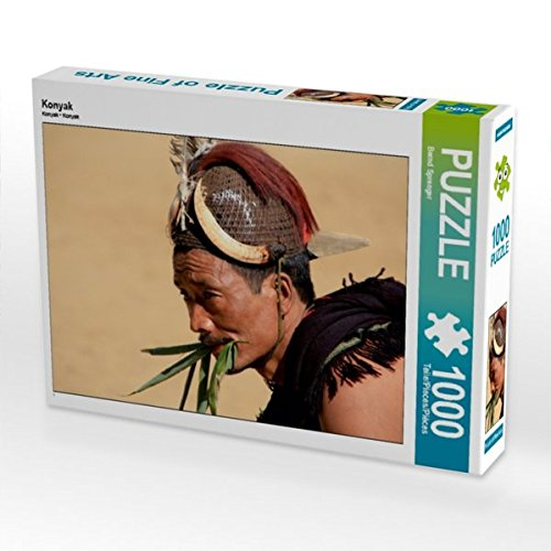CALVENDO Puzzle Konyak 1000 Teile Lege-Größe 64 x 48 cm Foto-Puzzle Bild von Bernd ()