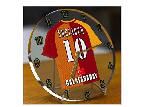 sportoto Türkei Süper Lig–Türkisch Fußball Shirt Desktop Uhren–Jeder Name, beliebige, jedes Team,...