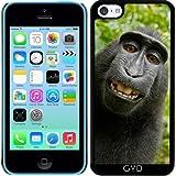 DesignedByIndependentArtists Coque pour Iphone 5c - Selfie d'un Singe by Grab My Art