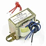 Move&Moving(TM) 220V 50Hz Input to 12V 5W Output EI Core Double Phase Power Transformer