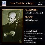 Concertos Pour Violon - Prokofiev, Bartok, Bloch...