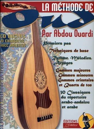 Méthode d'Oud + CD par Ouardi Abdou