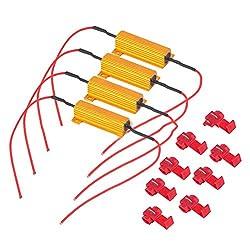 winomo 4LED-Anzeige 50W 6Ω Flash Rate Relais Blinker Lastwiderstand Leuchtmittel Vorschaltgerät