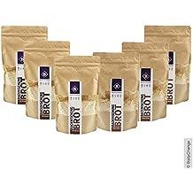 BodyChange Brotbackmischung 6er Pack - glutenfrei, natürlich, paleo, ohne Weizen, zuckerarm - Mix 3x Hell 3x Dunkel