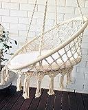 azul bereber hängend Sessel, Stuhl, Crochet Hanging Chair, Macrame Art, Baby Room, Baby Decor, Boho chic, Bohemian, Hang Stuhl, Boho Style, Boho deko …