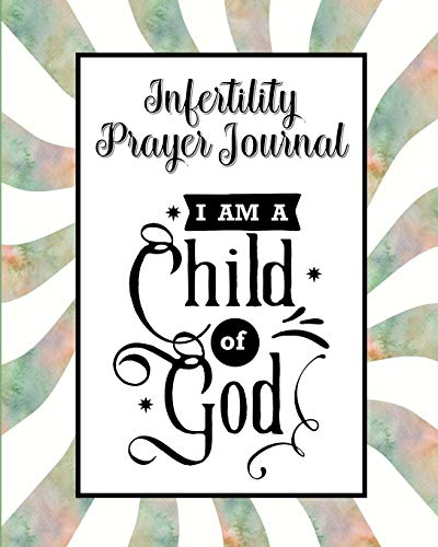 Infertility Prayer Journal: 60 days of Guided Prompts and Scriptures | Child of God | Green Swirl Stripes Depression Swirl