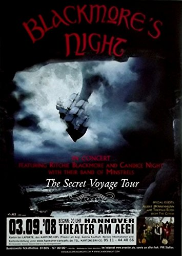 blackmore-s-night-deep-purple-2008-poster-de-concierto-secret-voyage-tour-de