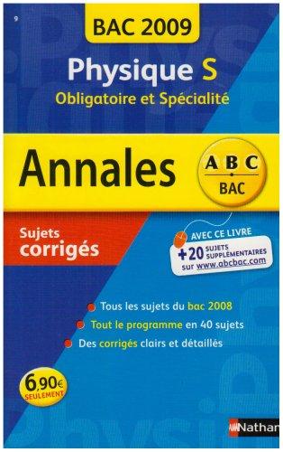 ANNAL 09 ABC SUJ COR PHYSIQ S