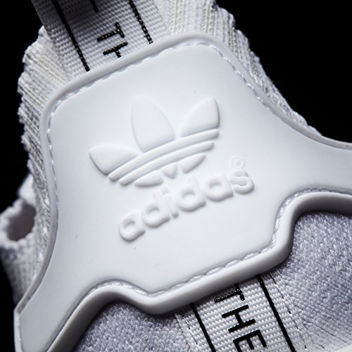 adidas Original NMD_r1 PK, Primeknit Sneaker. Schuhe Herren Low-Top FTWR WHITE