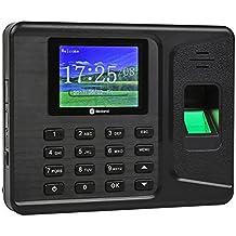 Anself 6.1 cm pantalla TFT-LCD de USB biométricos de huellas asistencia de máquina de