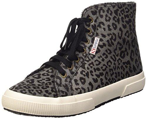 Superga 2095-Plus Leahorsew, Chaussures de Gymnastique Femme Multicolore (L78 Leopard Black)