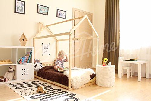 Sweet Home of Wood Montessori - Cama de Suelo