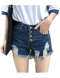 dd9bb94adf28 Amazon.es: Pantalones Altos - S / Pantalones cortos / Mujer: Ropa