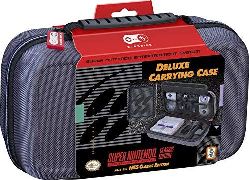 Tragetasche für Nintendo Super Nintendo Entertainment-System, Reise-Etui, Außenseite aus ballistischem Nylon, Grau, Limited Edition