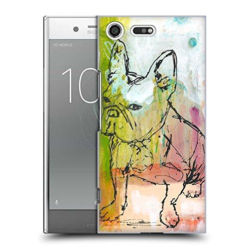 Offizielle Wyanne Einstellung Tiere Ruckseite Hülle für Sony Xperia XZ Premium