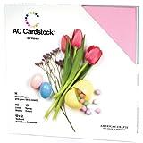 """American Crafts Cardstock Pack 12""""X12"""" 60/Pkg-Spring"""