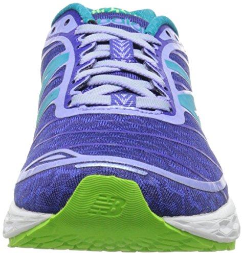 New Balance Women's W980V2 Fresh Foam Boracay Running Shoe Blue/Green