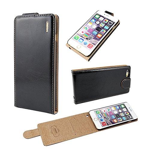 4 Nero Brillante Vibrazione Di Del Iphone 7 Pollici 6 Esecutivo ptFq1x