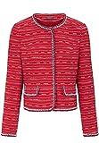 BASLER Damen Jacke Jacke mit Struktur-Streifen Schlitz