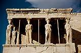 Porch of Maidens (Caryatides) Erectheum Greek Art Marble Acropolis Museum Athens Greece Poster Drucken (60,96 x 91,44 cm)
