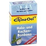 CHINA ÖL Hals- u.Hustenbonbons o.Zucker 40 g