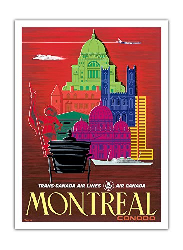 montral-canada-tca-trans-canada-air-compagnies-ariennes-air-canada-vintage-airline-travel-poster-by-