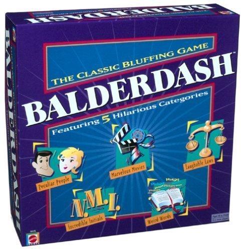 Balderdash Game by Mattel