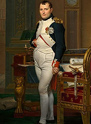 Jigsaw Puzzle 2000 pieces - Jacques-Louis David: The Emperor Napoleon in his study at the Tuileries, 1812