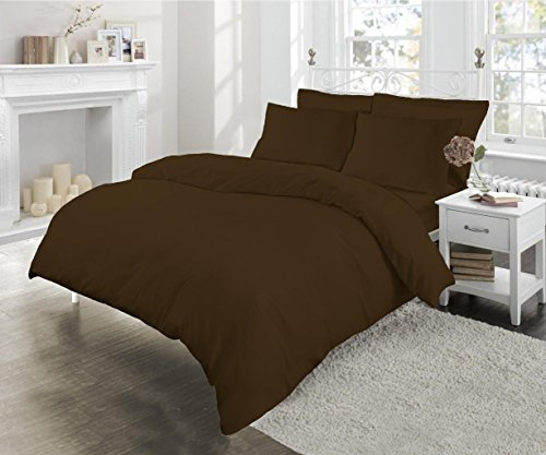 easycare-polycotton-180-thread-count-percale-housewife-pillowcases-sleepbeyond-chocolate-brown-2-pac