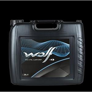 Bidon 20 litres d'huile moteur 15W40 Wolf Vitaltech 831657 pas cher
