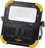 Brennenstuhl Mobiler Akku LED Strahler BLUMO / LED Leuchte mit Akku (20 Watt, für außen und innen, Baustrahler IP54, mit Bluetooth Lautsprecher) Farbe: schwarz