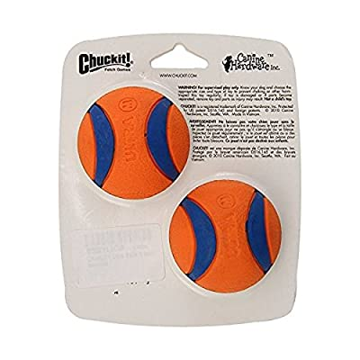 Chuckit! Ultra Balls dog toy balls, fits regular launcher, size M, 2 pcs. by Canine Hardware