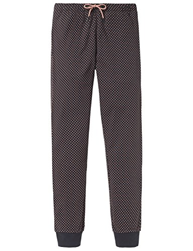 Schiesser Mädchen Schlafanzughose Mix & Relax Jerseypants, Grau (Anthrazit 203), 164 (Herstellergröße: M)