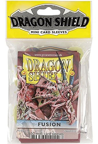 Dragon Shield mangas Pack (50fundas, tamaño pequeño), Fusion