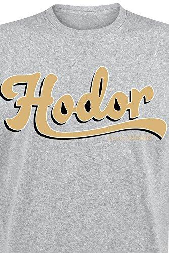 Game Of Thrones Hodor T-Shirt grau meliert Grau Meliert
