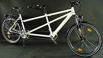 Tándem de aluminio, estructura de bicicleta de montaña, 26