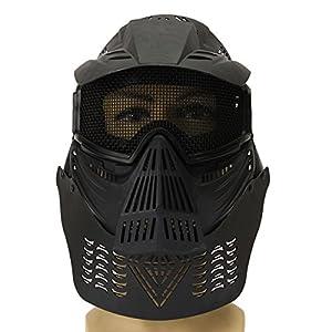 Plat Firm Biker Vollmaske Paintball Tactical CS Airsoft Gesichtsschutz