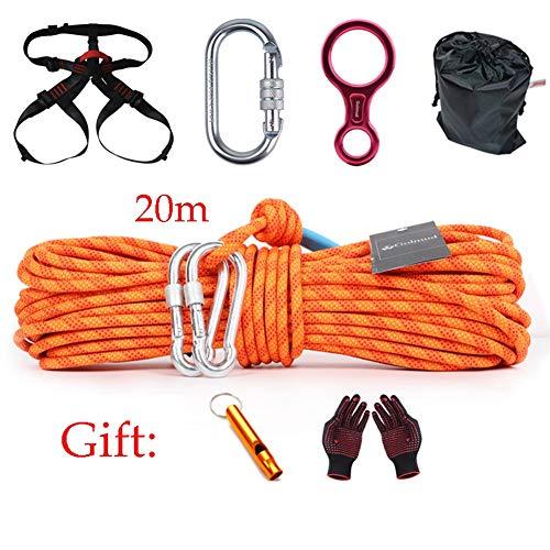 Framy 20 Mt Outdoor Survival Kit Camping Seil Set Geschwindigkeit Drop Paket Notfall Selbstrettende Seil Familie Notfall Set