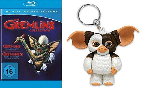 Gremlins Collection - Teil 1 & 2 Kleine Monster & Die Rückkehr + Gizmo Schlüsselanhänger 2 Blu-Ray Box Limited Edition