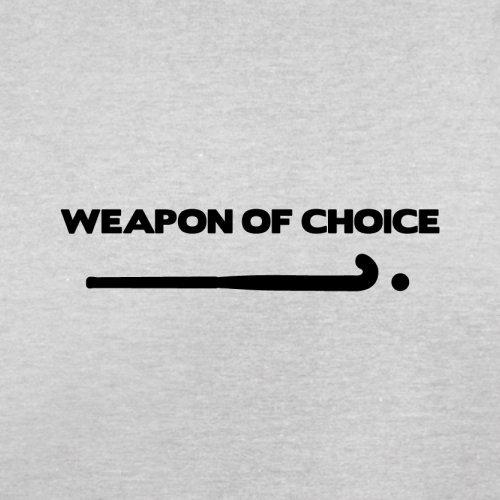 Weapon Of Choice Field Hockey - Herren T-Shirt - 13 Farben Hellgrau