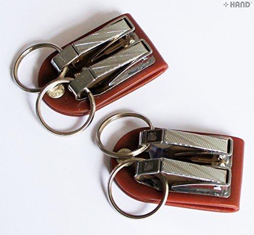 2829-2 Breite Gürtel Schlüsselanhänger Schnalle Doppelschleife Haken - Get gratis beim Kauf von 1 1!