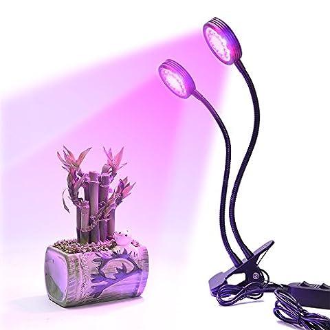 Fleurs Legumes - LONGKO 32LED 16W Lampe de Croissance /Lampe