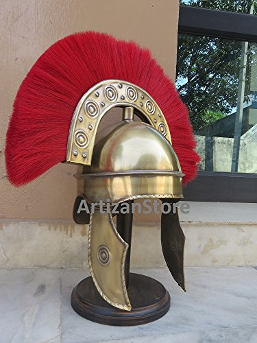 rome-hbo-casque-avec-costume-rouge-plume-halloween