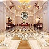 Wandbild Pvc Selbstklebende Wasserdichte Bodenaufkleber Europäischen Stil Rose Angel 3D Bodenfliesen Wohnzimmer Luxus Decor Wandbild Tapete 3 D-350X250CM